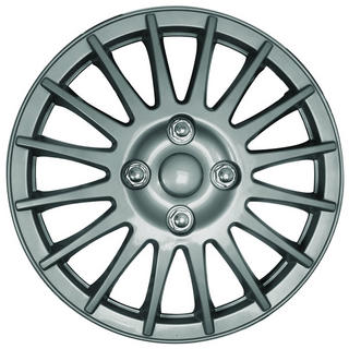 13 Inch Silver Lightning Wheel Trims